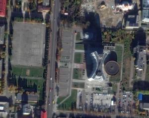Widok z mapy google